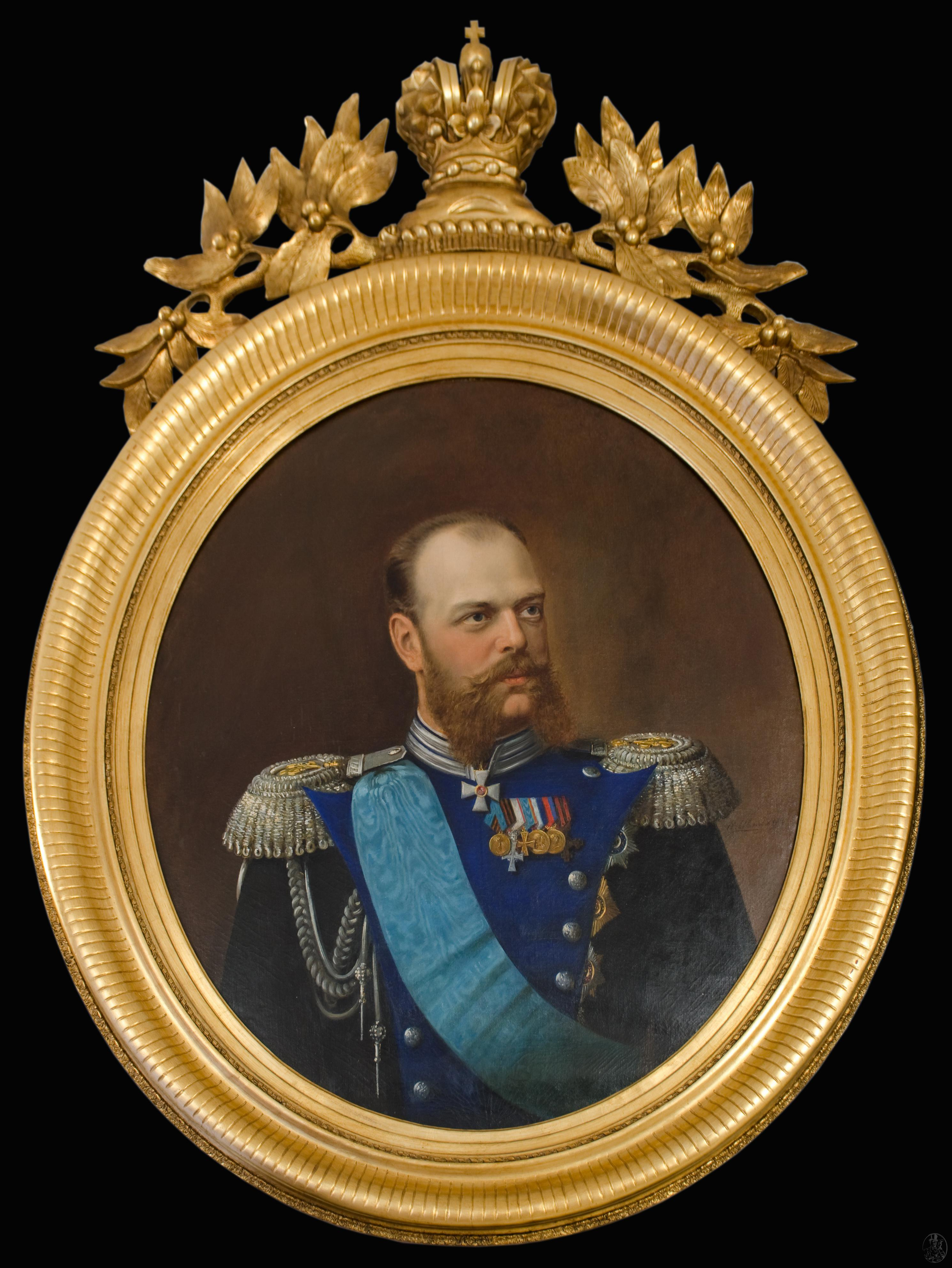 Портрет александра 3 купить 800 злотых