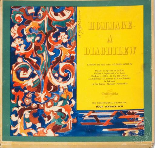 Антиквариат. Альбом «Hommage a Diaghilew»
