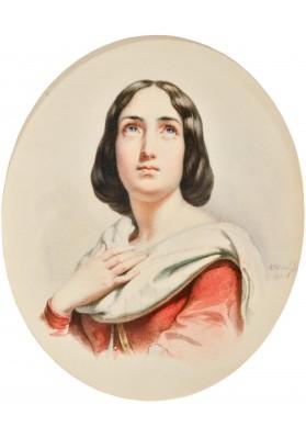 Брюллов Александр Павлович (1798-1877). «Портрет».