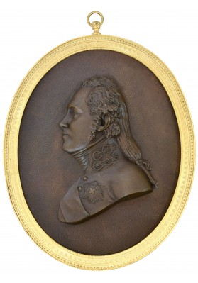 Медальон с портретом Александра I. К Фридеманн