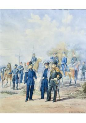Балашов Пётр Иванович (1835(?)— 1888). «Офицеры и нижние чины».