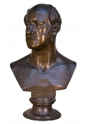 Раух Христиан Даниэль (1777-1857). Скульптурный портрет Александра Христафоровича Бенкендорфа (1782-1844).