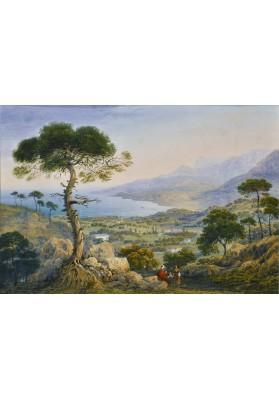 Боссоли Карло Баттиста (1815-1884). «Крымский пейзаж».