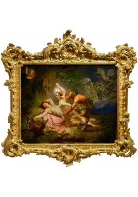 """Брюллов Карл Павлович (1799-1852). """"Диана, Эндимион и Сатир""""."""