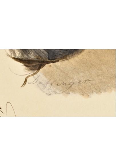 "Даффингер Майкл Мориц (1790-1849). ""Портрет князя Алексея Борисовича Куракина (1809-1872)""."
