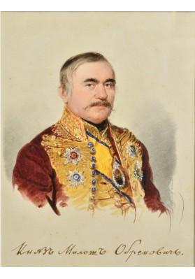 Даффингер Майкл Мориц (1790-1849). «Портрет князя Милоша Обреновича (1780 — 1860)».