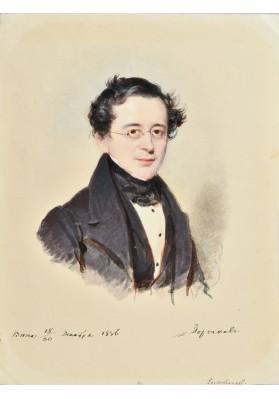 "Даффингер Майкл Мориц (1790-1849). ""Портрет Светлейшего князя Александра Михайловича Горчакова (1798-1883)""."