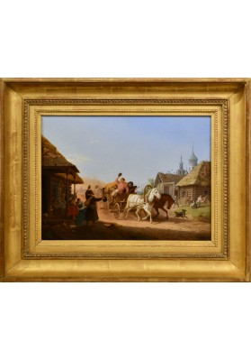 Хесс (Гесс) Петер Фон/Peter Von Hess (1792-1871). «Заждались».