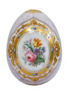 Яйцо-пасхальное «Роза и тюльпан»