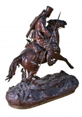 Грачев Василий Яковлевич (1831-1905). Скульптурная композиция «Казак на коне».