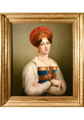Кинсон Франс Йозеф (1770-1839). «Портрет Софьи Петровны Свечиной, урожденной Соймоновой (1782-1857)».