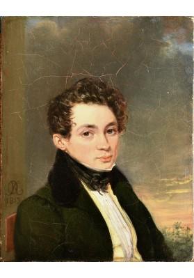 Кипренский Орест Адамович (1782-1836). «Протрет молодого человека».