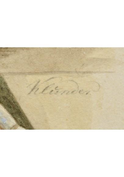 Клюндер (Клиндер) Александр Иванович (1802-1874). «Портрет военного в кирасе».
