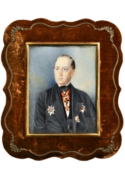 Клюндер (Клиндер) Александр Иванович (1802-1874). «Портрет Владимира Михайловича Прокоповича-Антонского (1790-1849)».