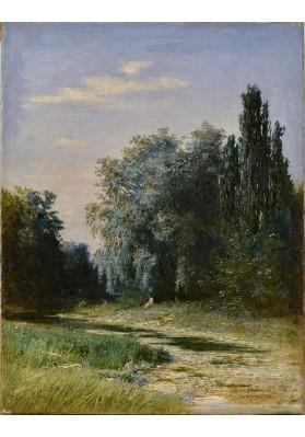 Кондратенко Гавриил Павлович (1854-1924). «Летний пейзаж».