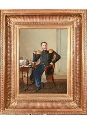 """Крендовский Евграф Федорович (1810 – после 1853). """"Портрет генерал-лейтенанта Ивана Карловича Арнольди (1780-1860)""""."""