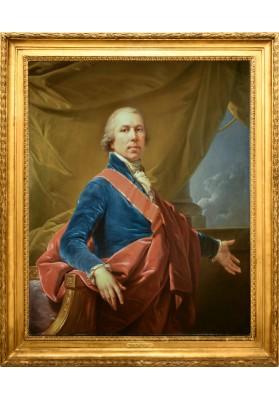 Лампи (Старший) Иоганн Баптист (1751-1830). «Портрет неизвестного с орденом Св. Станислава».