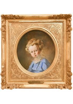 """Макаров Иван Кузьмич (1822-1897). """"Портрет герцога Н.М. Лейхтербергского""""."""