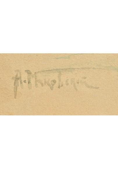 Маковский Александр Владимирович (1869-1924). «Портрет Великого Князя Николай Николаевича Младшего (1856-1929)».