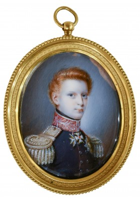 Миниатюрный портрет Великого князя Михаила Павловича (1798—1849)