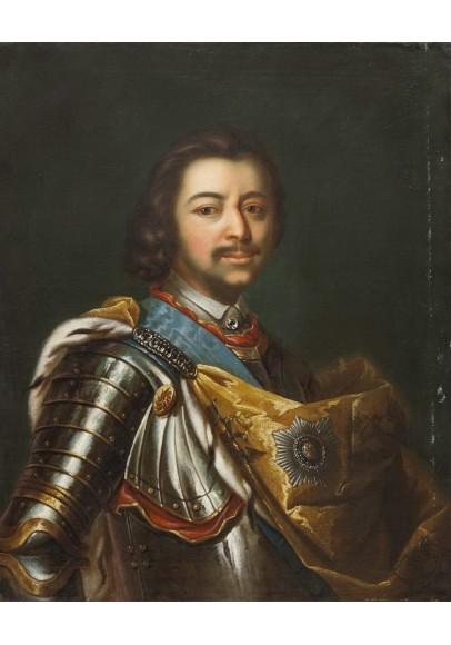 Тип Жана Марка Натье (1685-1766). «Портрет императора Петра I».