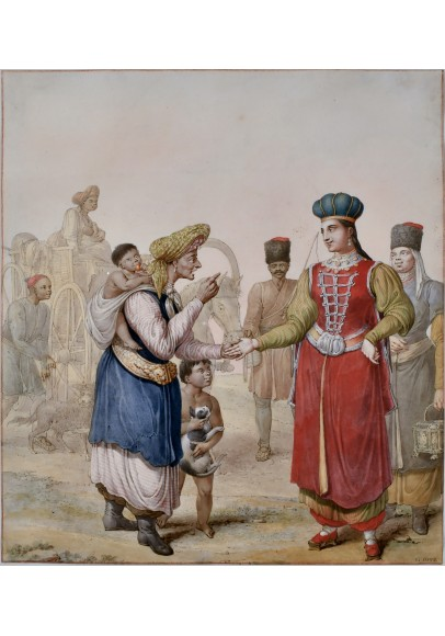 Опиц Георг Эммануэль (1775-1841). «Гадалка».