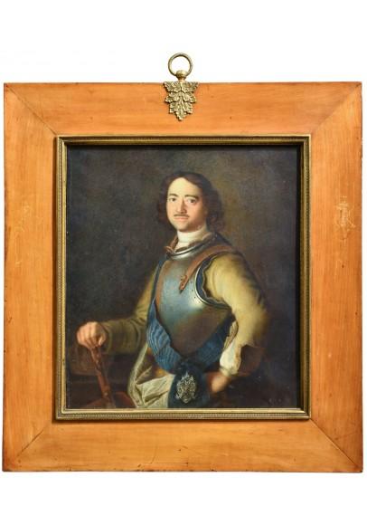 Тип Арента де Гелдера (1645-1727). «Портрет Петра Великого в кирасе».