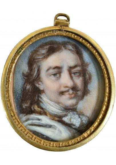 Миниатюрный портрет «Пётр Великий»
