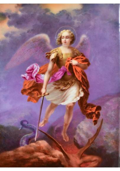 Пласт «Борьба Архангела Михаила с Сатаной»