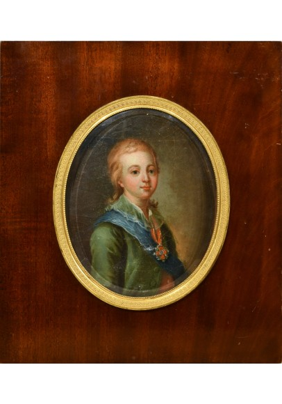 Портрет Великого Князя Александра Павловича (1777-1825)