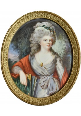 Ритт (Ritt) Августин Христиан (1765-1799). Портрет Мари Федоровны (Софии Марии Доротеи Августы Луизы Вюртембергской 1759-1828).