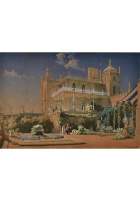 Премацци Луиджи (Людвиг Осипович) (1814—1891). «Воронцовский дворец. Алупка».