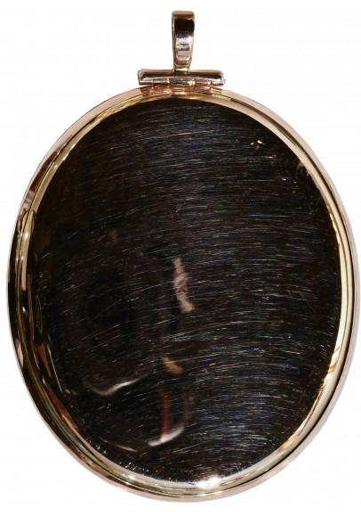 """Огюстен (Августин) де Сент-Обен (1736-1807). """"Профильный портрет императрицы Екатерины II""""."""