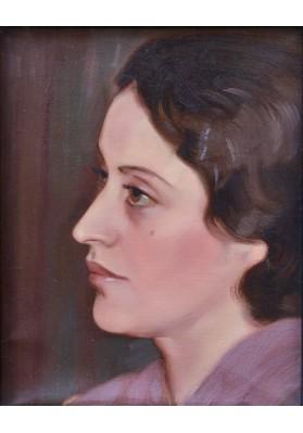 Рерих Святослав Николаевич (1904-1993). «Портрет Ираиды Михайловны Богдановой».