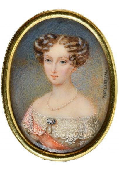 "Алоизий Петрович (Алоиз Густав) Рокштуль (1798-1877). ""Портрет императрицы Марии Александровны""."