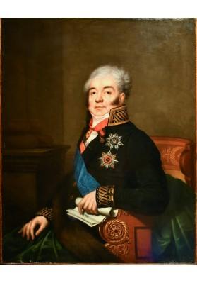 Ромбауэр Иоганн (Янош) (1782-1849).  «Портрет Дмитрий Александровича Гурьева (1785-1825)».