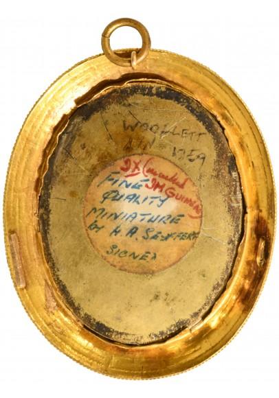 """Cейферт Генрих Абель (1768 – 1834) """"Мужской портрет с наградами Времен войны с Наполеоном""""."""