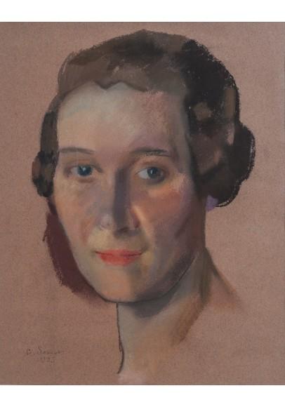 Сомов Константин Андреевич (1869-1936). «Портрет Мациевой Евгении Соломоновны».