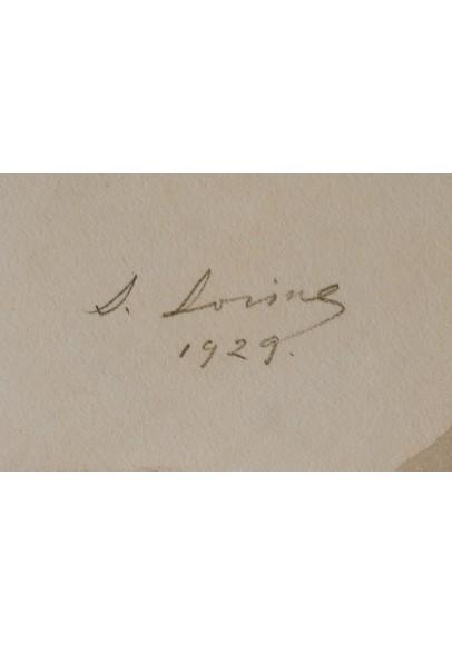 Сорин Савелий Абрамович (1878-1953). «Портрет Марии Викентьевны Шаляпиной (Карпиловской-Бобрик) (1901-1988)».