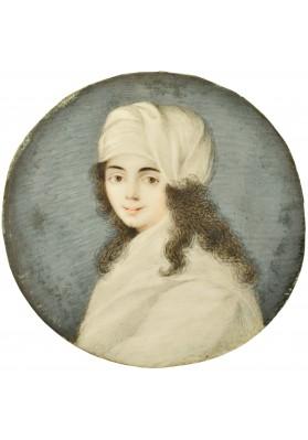«Миниатюрный портрет девушки в чалме».