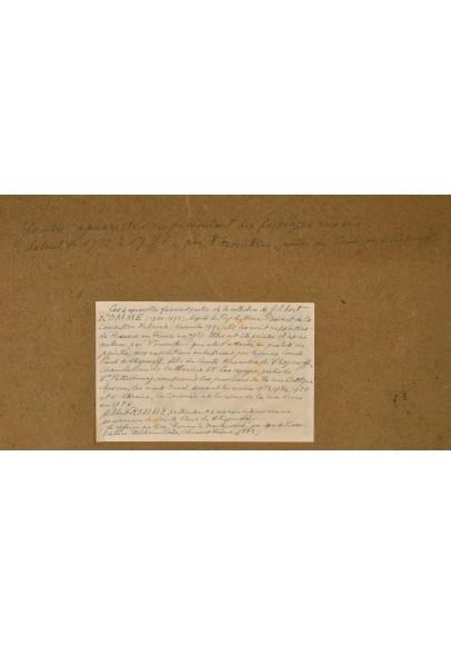"""Воронихин Андрей Никифорович  (1759-1814). Восемь акварелей из коллекции """"Имение Строгановых""""."""