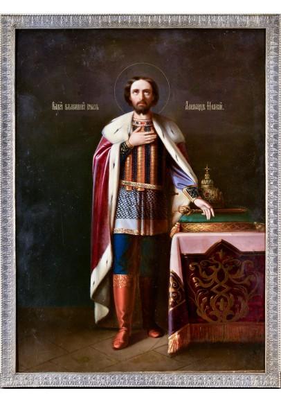 Икона «Св. Александр Невский»