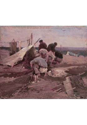 Колесников Иван Фёдорович (1887-1929). «Рыболовецкая артель».